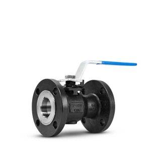 Floating ball valve uni body FluoroSeal