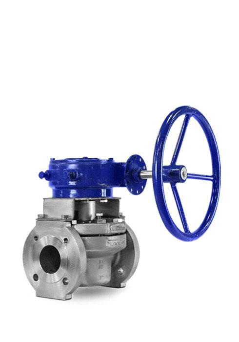 Full port sleeved plug valve FluoroSeal