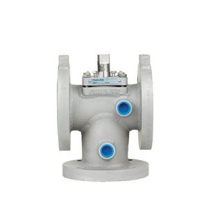 Full welded jacket plug valve FluoroSeal