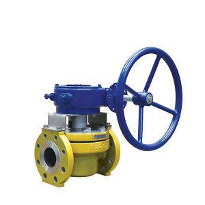 HF alkylation full port plug valve FluoroSeal lv