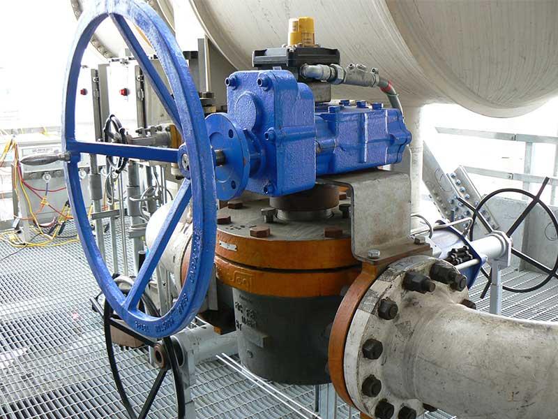 HF plug valve FluoroSeal chemical facility