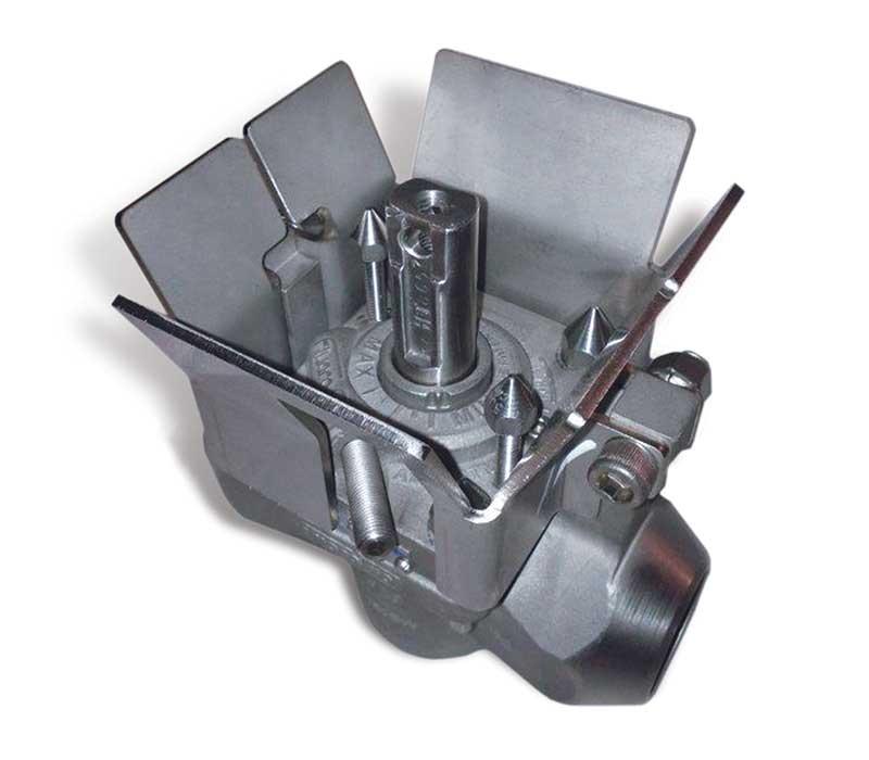 Jumper valve FluoroSeal custom valve