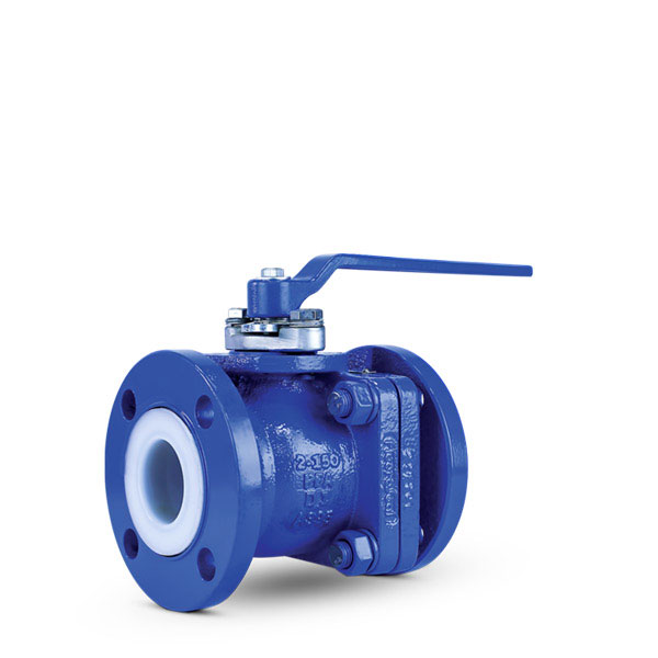 Lined ball valve PFA FluoroSeal