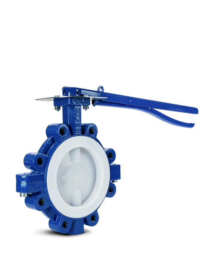 Lined butterfly valve FluoroSeal