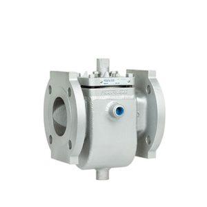 Partial welded jacket plug valve FluoroSeal