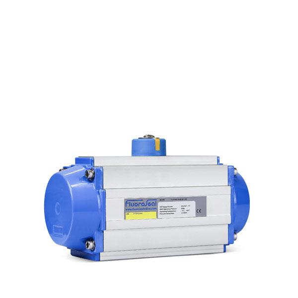Pneumatic actuator valve automation FluoroSeal