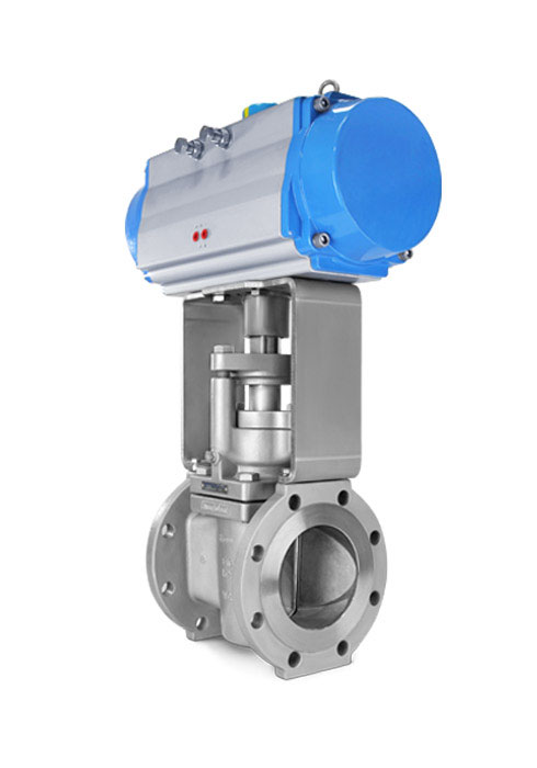 Severe service FE plug valve FluoroSeal