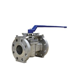 EZ-SEAL® sleeved plug valve with ISO bracket
