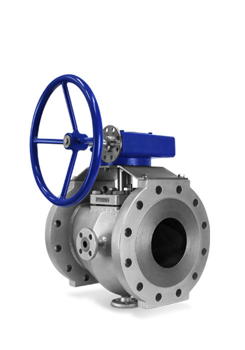 Steam jacketed sleeved plug valve gear FluoroSeal