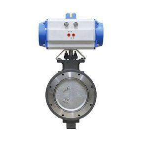 automated high performance butterfly valve FluoroSeal fv