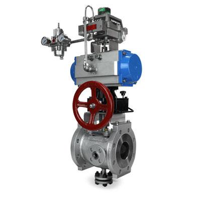 automated jacketed plug valve custom valve FluoroSeal