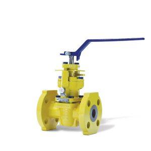 chlorine service plug valve FluoroSeal
