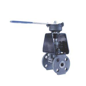 severe service plug valve spring return FluoroSeal